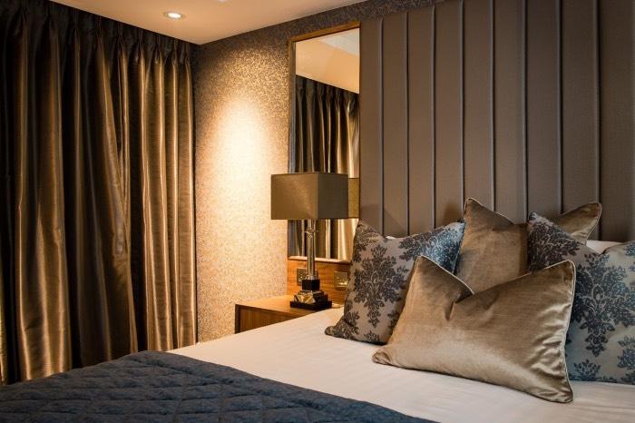 Lea Marston Hotel Bedroom