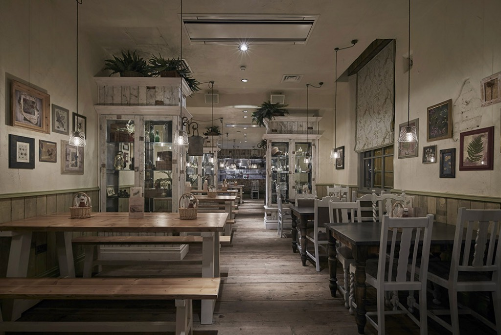 The Botanist Birmingham Restaurant